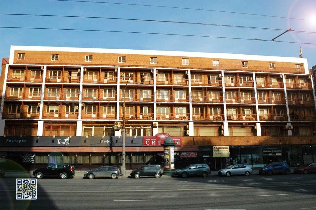 Капитальный ремонт фасада пятиэтажного офисного здания