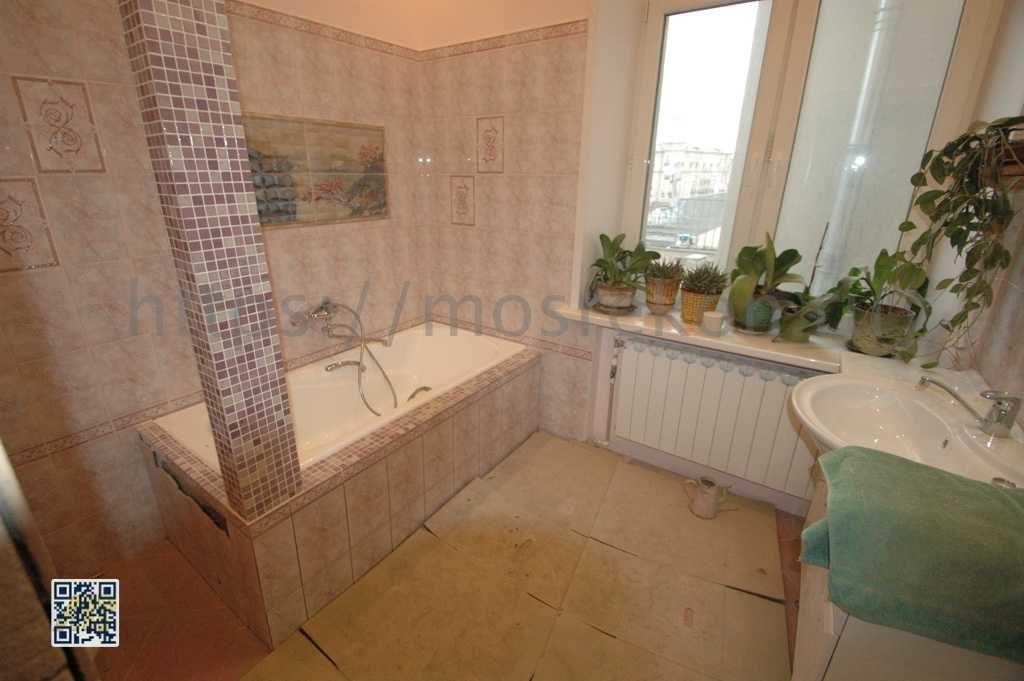 Красивый ремонт ванной в центре Москвы