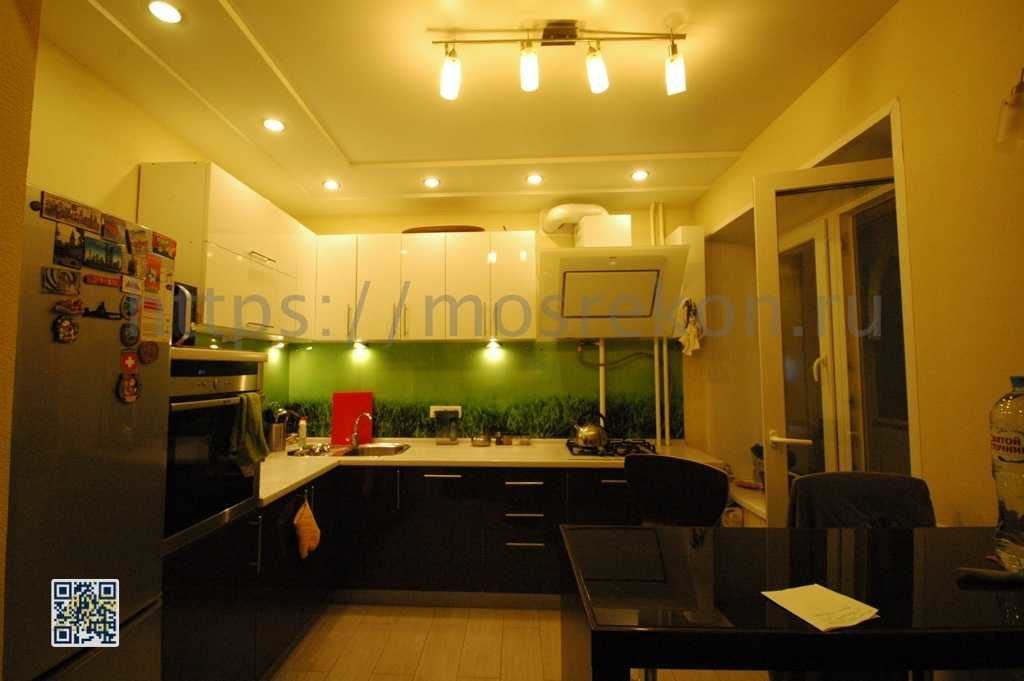 Ремонт и отделка кухни на Университете