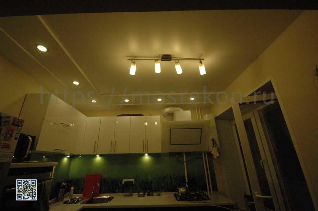 Ремонт кухни в квартире студия