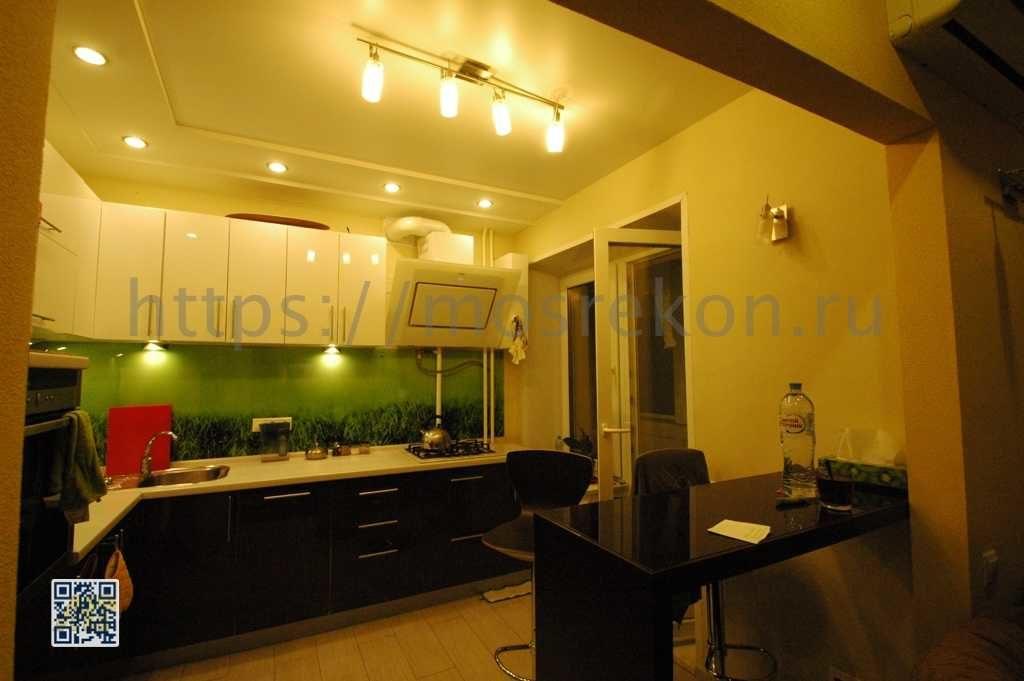 Ремонт кухни под ключ в новостройке фото