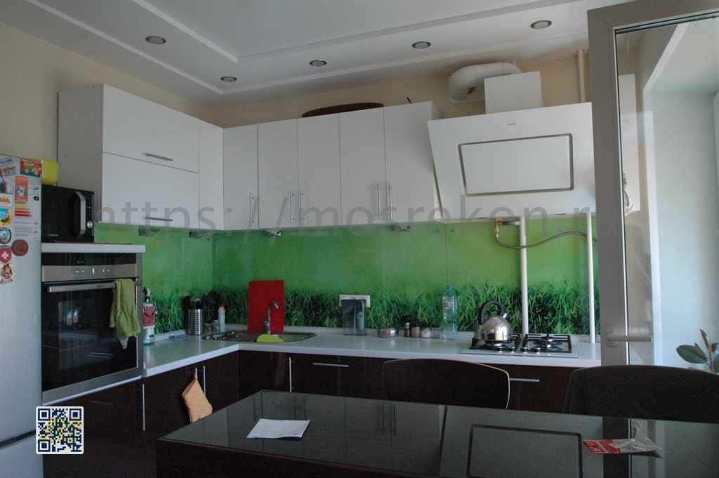 Ремонт в красивой современной кухне