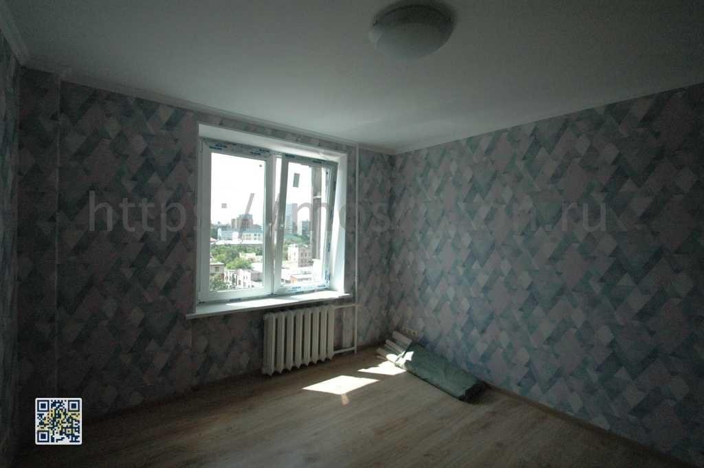 Отделка комнаты в квартире