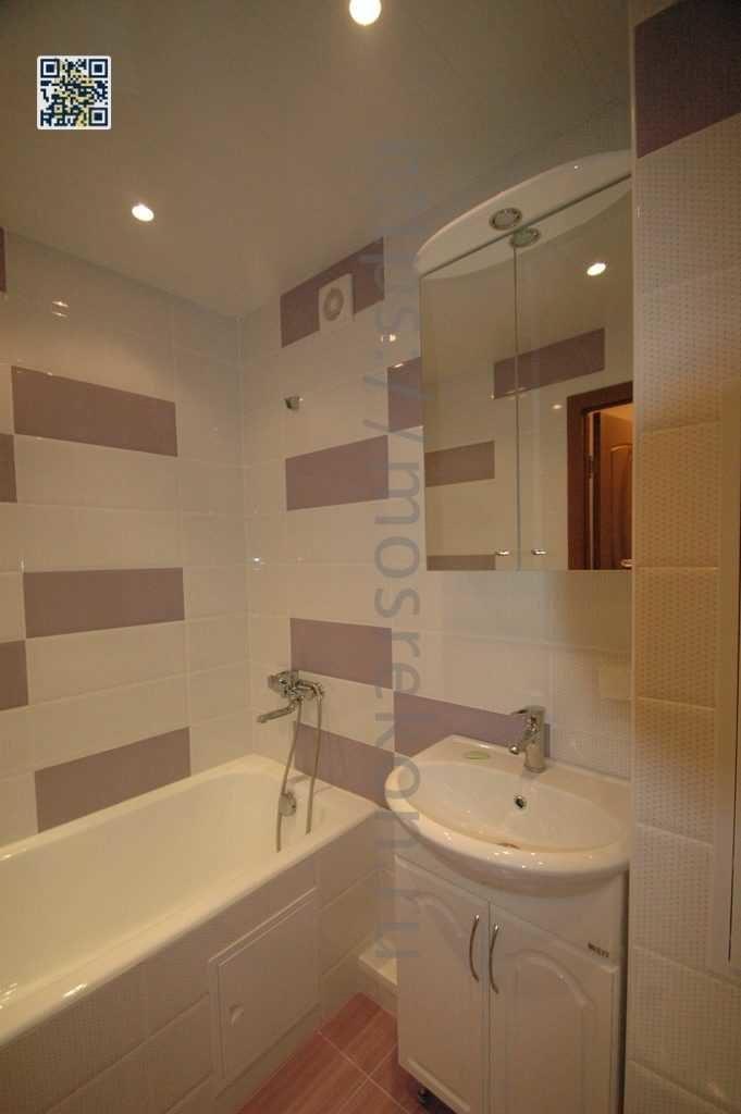 Капитальный ремонт ванной под ключ в квартире