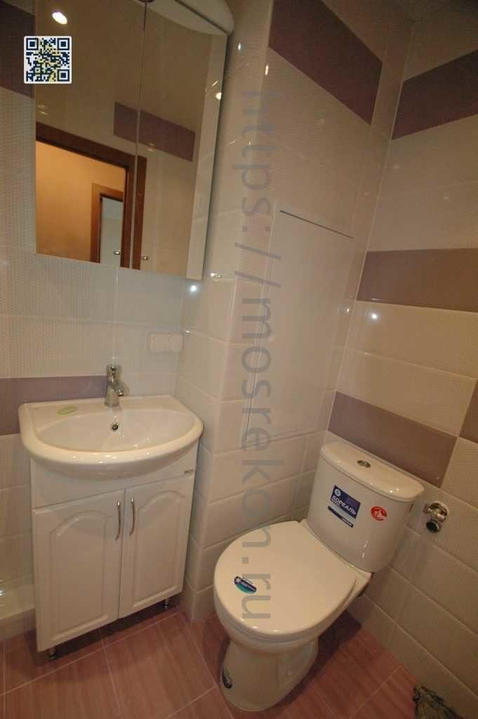 Качественный ремонт ванной под ключ в квартире