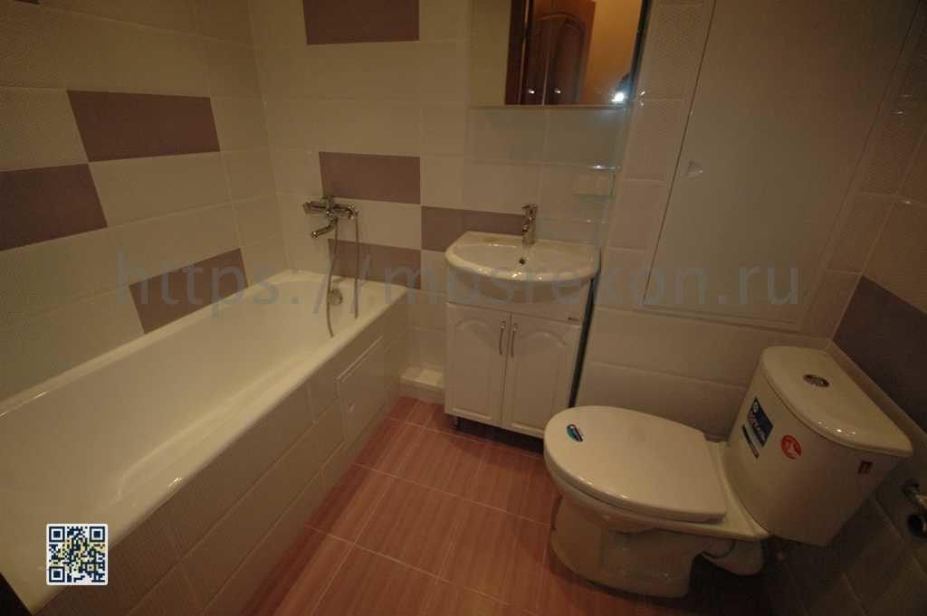 Ремонт в совмещенной ванной