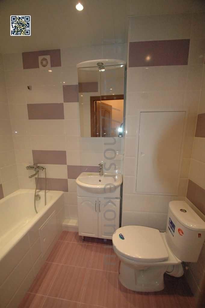 Укладка плитки в ванной комнате под ключ