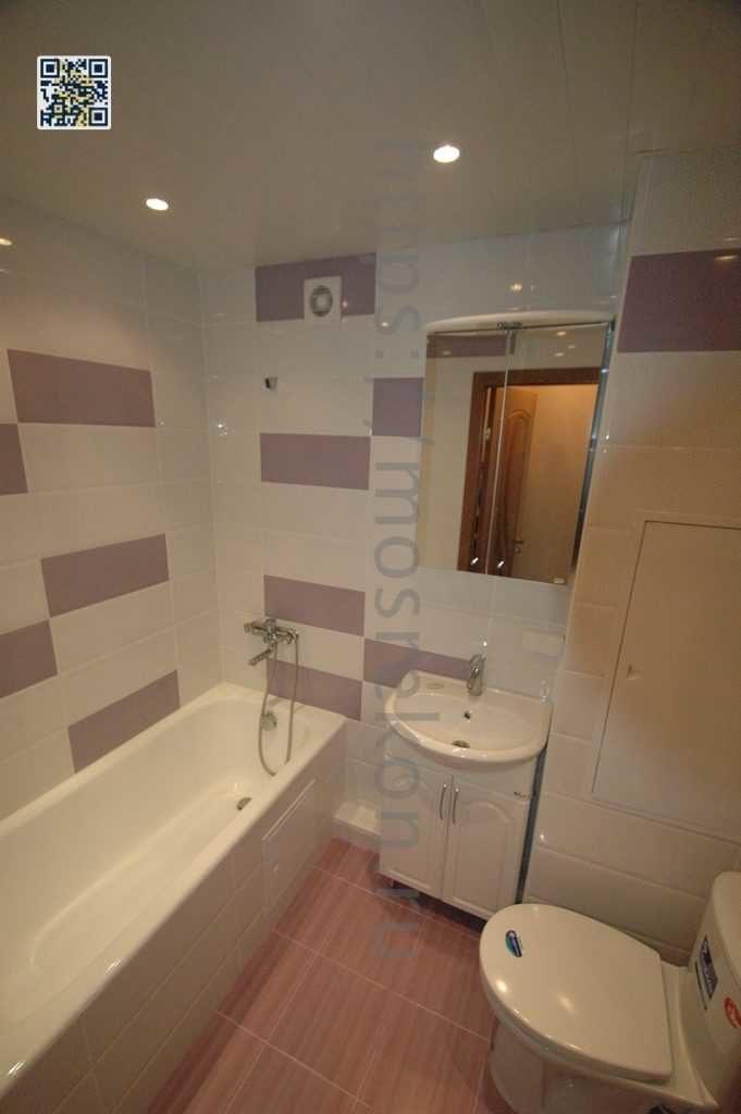 Эксклюзивный ремонт в совмещенной ванной