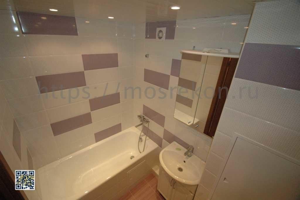 Современный ремонт ванной на Дмитровской