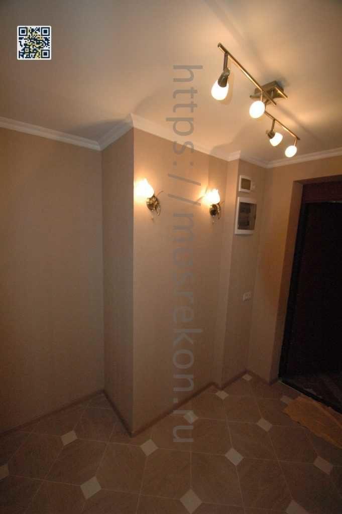 Ремонт коридора в з-х комнатной квартире