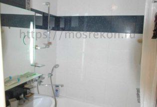 Капитальный ремонт ванной комнаты в Щукино