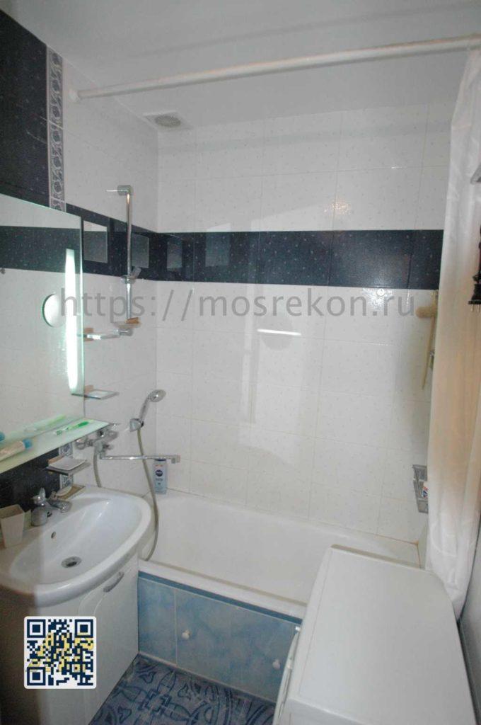 Капитальный ремонт ванной на щукинской