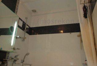 Монтаж реечного потолка в ванной в хрущевке