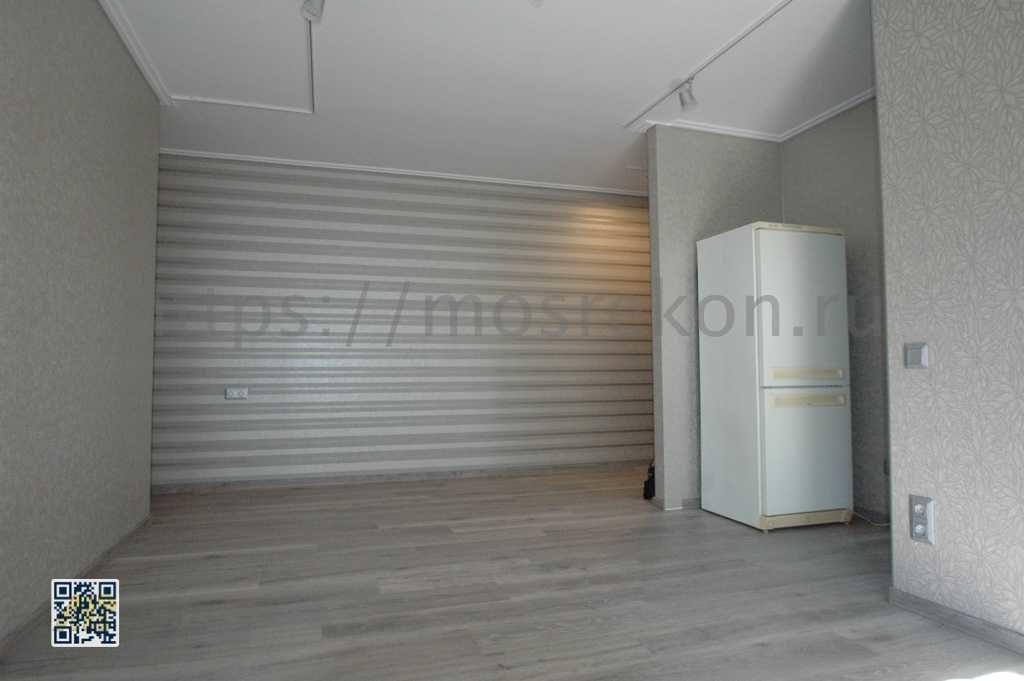 Отделка стен под обои в квартире студии