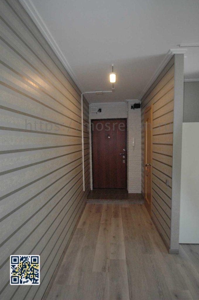 Ремонт коридора и зала в хрущевке на щукинской