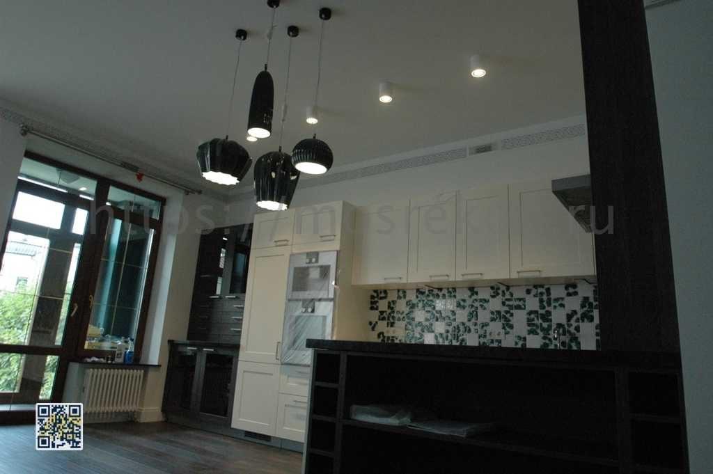 Элитный ремонт кухни в таунхаусе