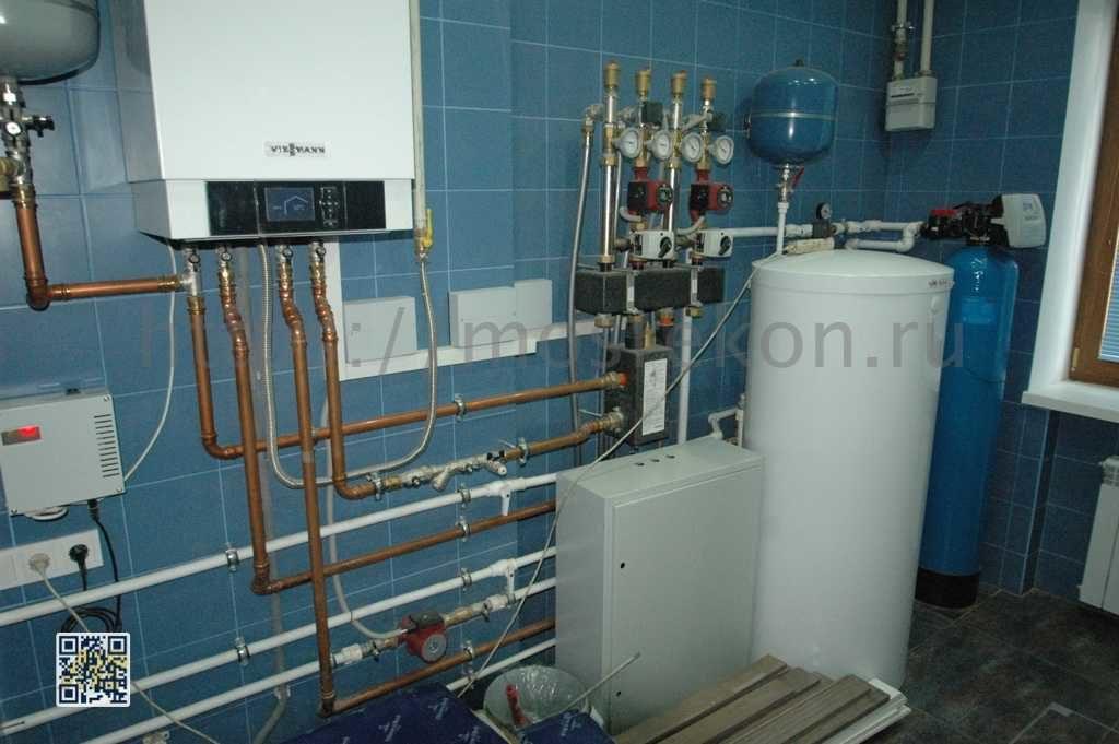 Комплексный ремонт труб водоснабжения