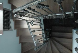 Фото элитный монтаж лестницы
