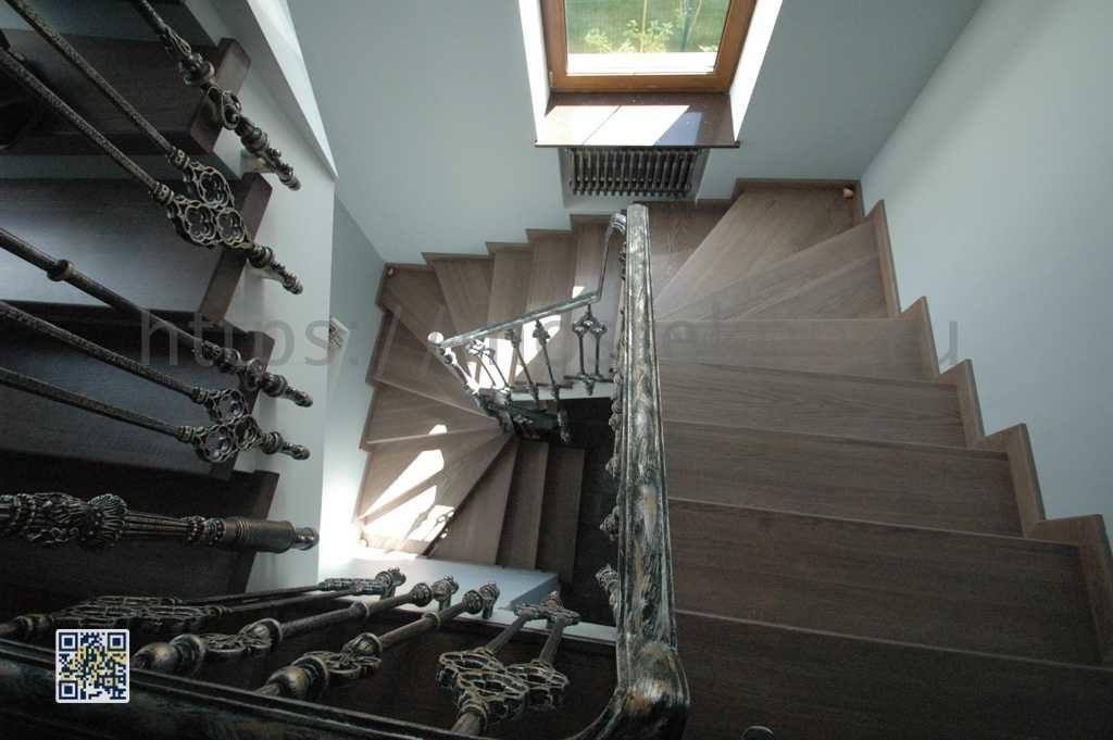 Эксклюзивная металлическая лестница в Суханово