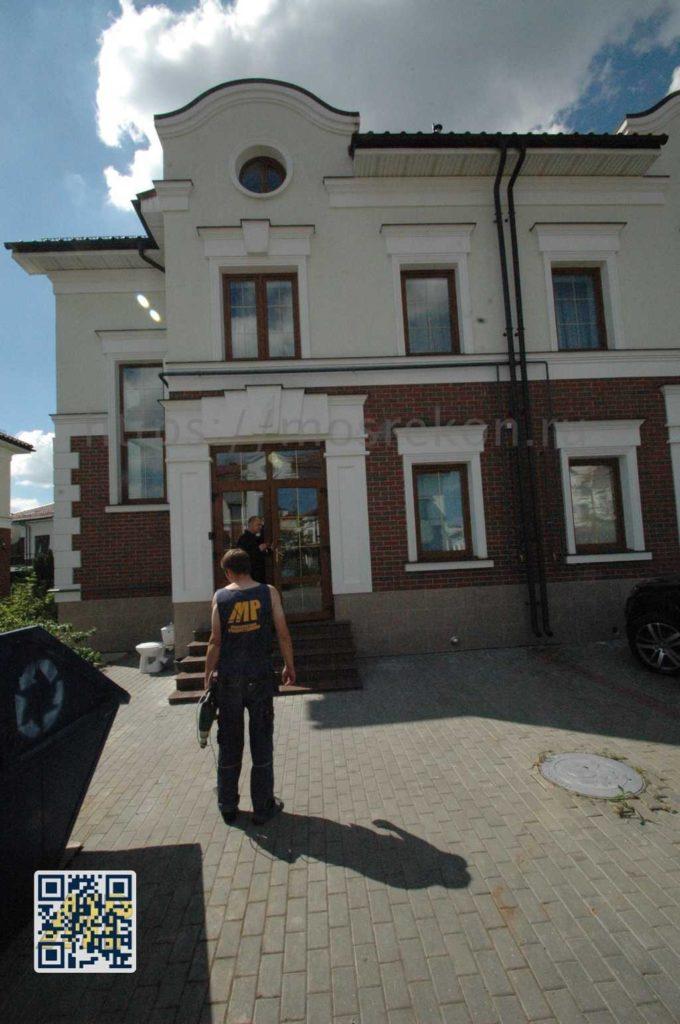 Трех этажный дом с мансардой в Суханово