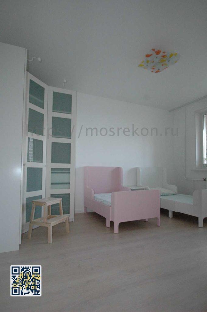 Ремонт детской комнаты на Щелковской фото