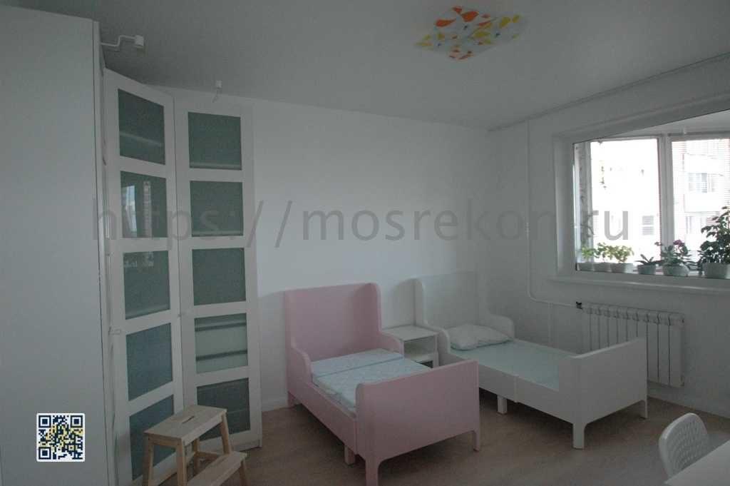 Красивый ремонт детской комнаты фото