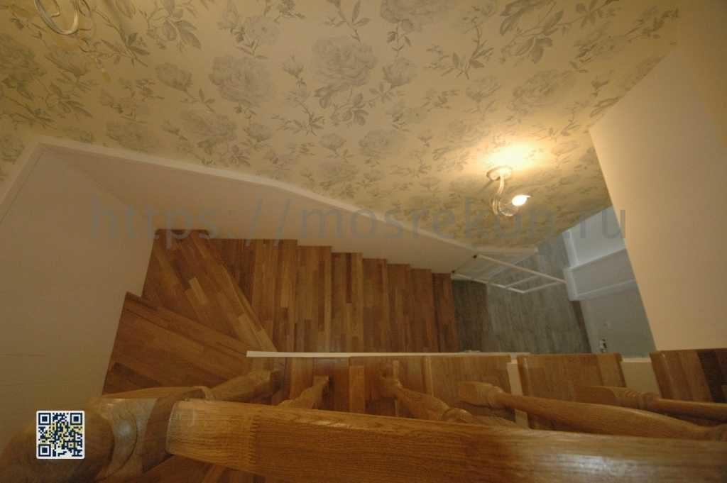 Дизайнерская лестница в Суханово