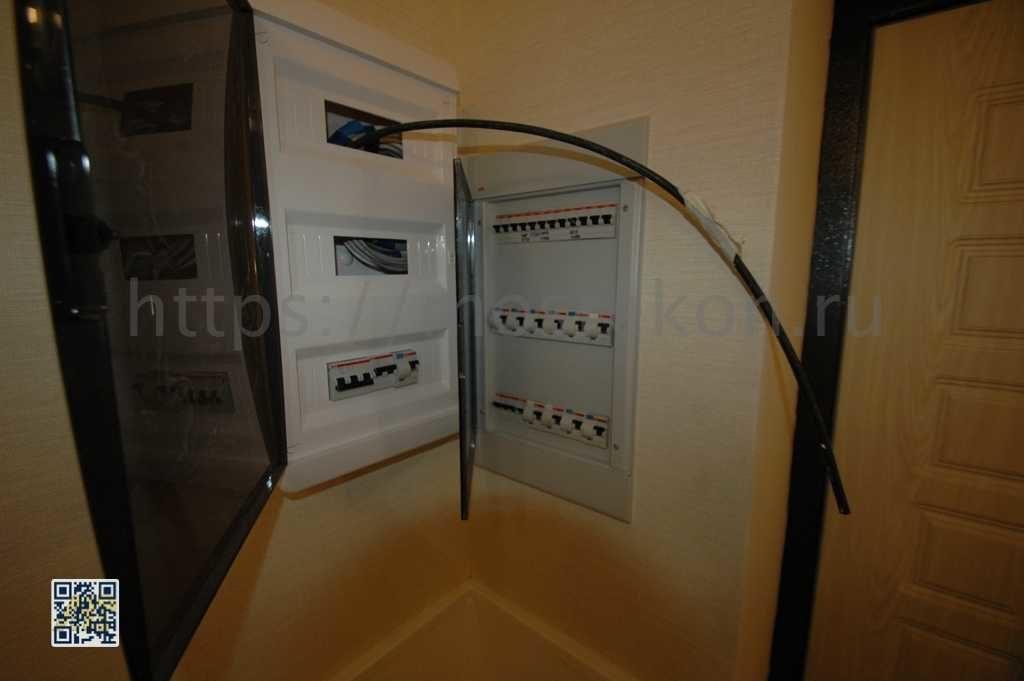 Монтаж автоматов в электро щит