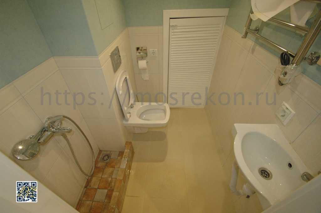 Ремонт туалета в таунхаусе