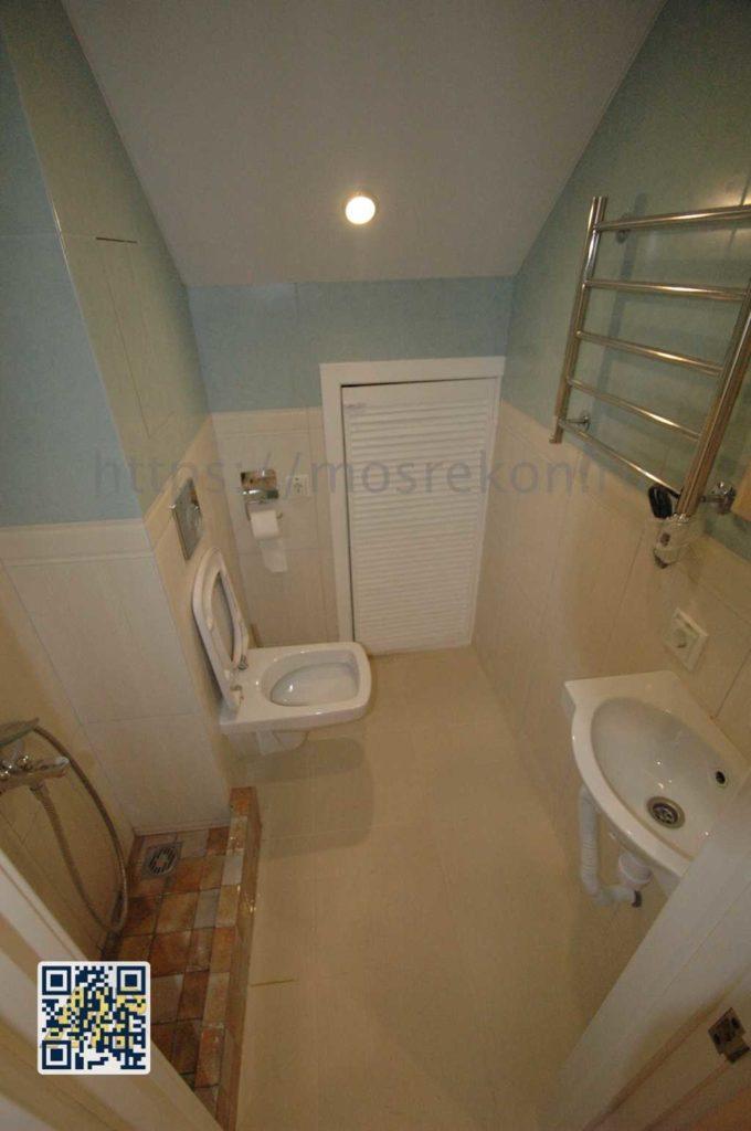 Ремонт туалета в загородном доме