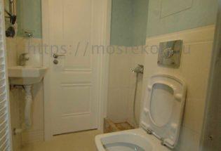 Недорогой ремонт туалета по дизайн проекту