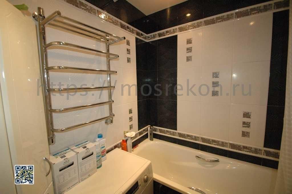 Капитальный ремонт ванной комнаты в Очаково