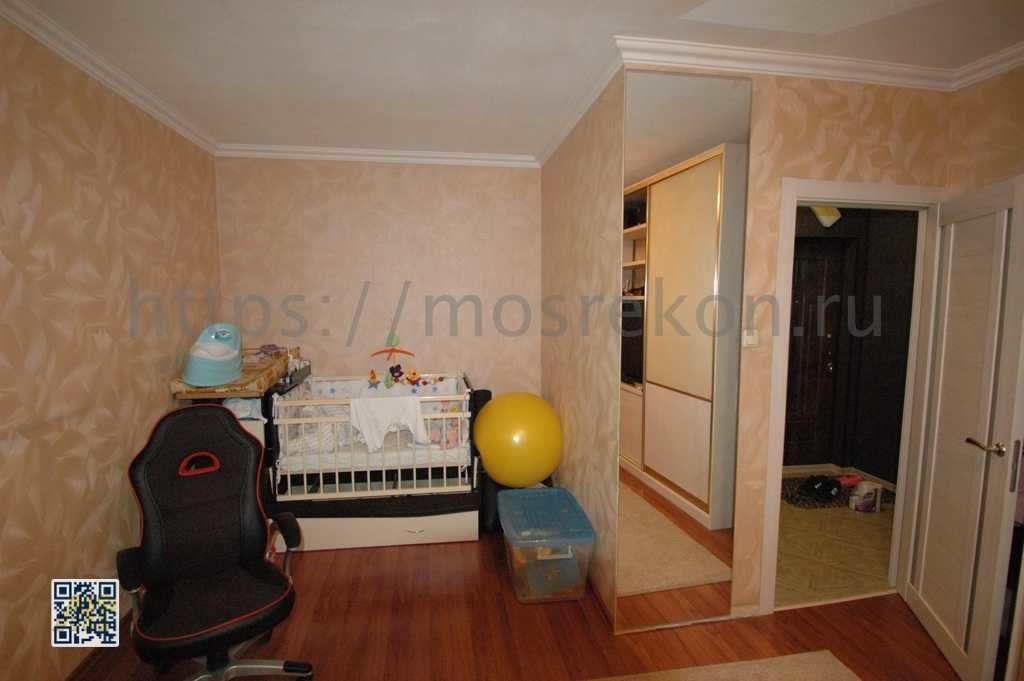 Ремонт зала в в панельном доме в Очаково