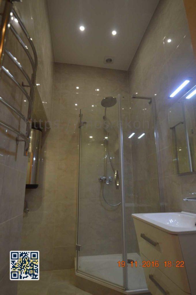 Ремонт элитной ванной комнаты на Остоженке