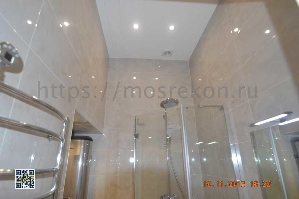 Ремонт ванной комнаты на Остоженке
