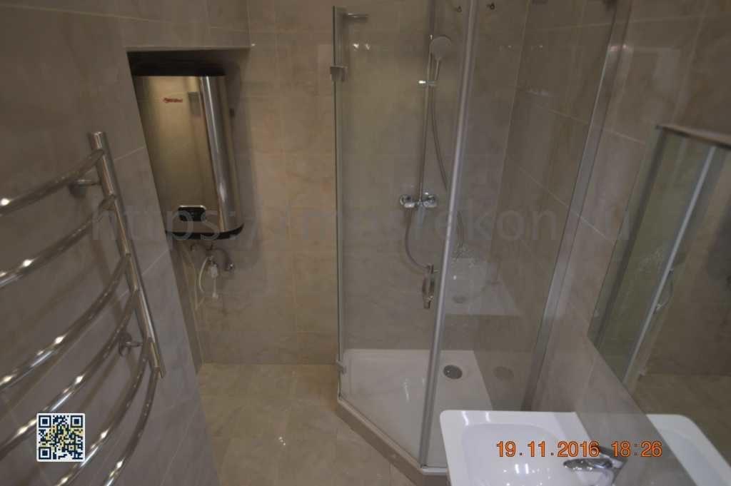 Дорогой ремонт в ванной комнате на Остоженке