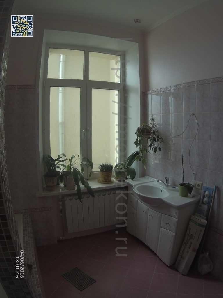 Ремонт совмещенной ванной комнаты в сталинке на Боровицкой