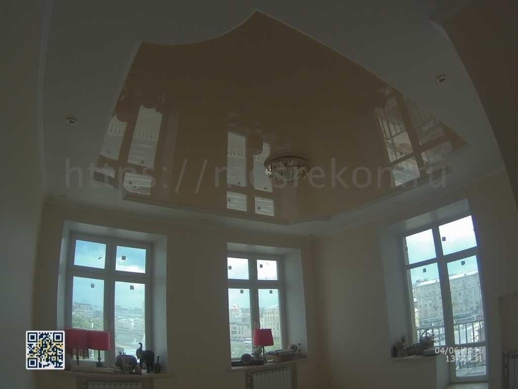 Двух уровневый потолок в квартире