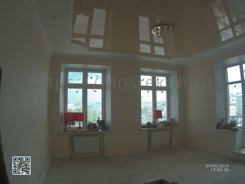 Двух уровневый потолок в Сталинской квартире