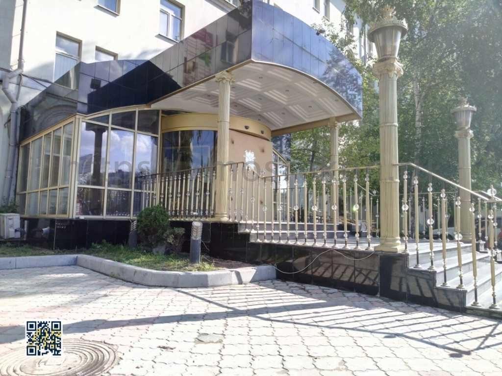 Разработка дизайна на вход в гостиницу
