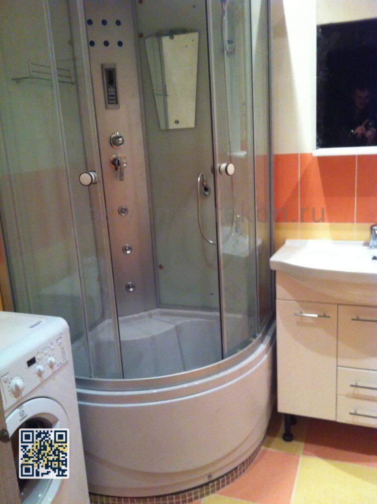 Дизайнерский ремонт ванной комнаты в Нахабино