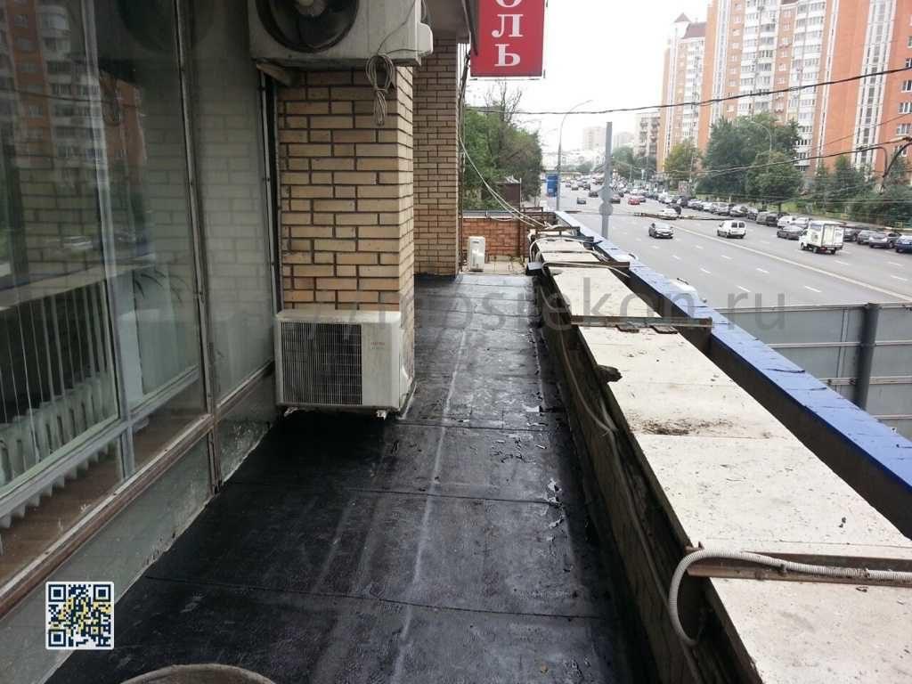 Ремонт кровли офисного здания