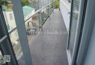 Замена плитки и окраска стен на балконе фото