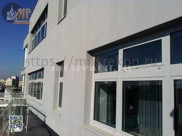 Устранение трешин и окраска фасада на ул Пакровка
