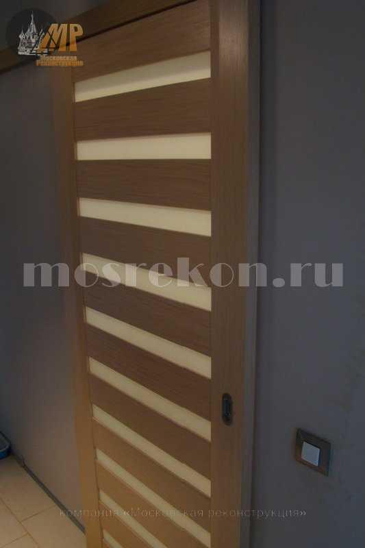 Монтаж раздвижных дверей фото