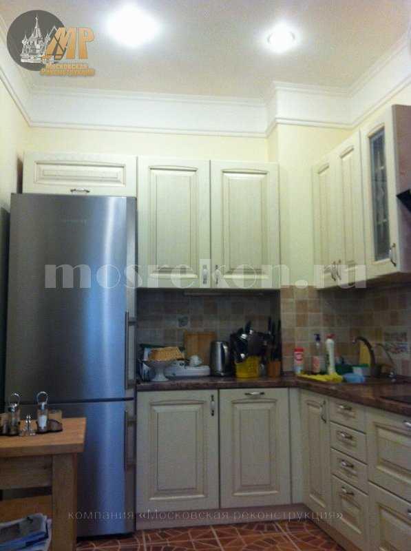 Капитальный ремонт кухни в офисном здании