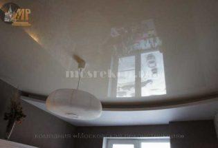Элитный комбинированный потолок 2-х уровневый фото