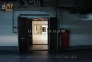 Ремонт подземной парковки у метро Чкаловская фото