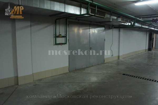 Частичный ремонт парковки на Покровке у метро Чистые пруды