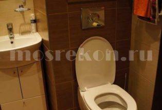 Капитальный ремонт ванной комнаты в квартире на Сокольниках